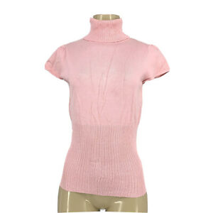 Take Out Junior Size  L Short Sleeve Turtle Neck Top AD8