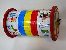Vintage 1950s Fisher Price Musical Chome Roller Toy (No Stick) #722