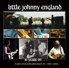 LITTLE JOHNNY ENGLAND - 10 YEARS ON LIVE STUDIO RARE 2CDs (New Sealed) Rock Folk