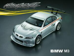 1/10 RC Car Body Clear Shell BMW M3 E92 fit Tamiya Yokomo HPI Chassis