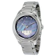 Tissot T-Touch Lady Solar Mother of Pearl Diamond Dial Stainless Steel Watch