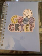 GRAPHIQUE CHARLIE BROWN  PEANUTS GOOD GRIEF SPIRAL NOTEBOOK/DIARY/ JOURNAL