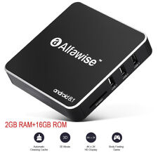 Alfawise A8 4K Smart TV BOX Android 8.1 2GB +16GB 2.4G WiFi 100Mbps Media Player