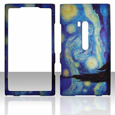 Blue Art  Case for Nokia Lumia 900 Cover Protector