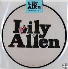 "LILY ALLEN '22 + REMIX ' LIMITED UK 2-TRACK 7"" PICTURE"