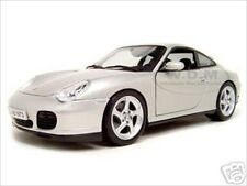 PORSCHE 911 CARRERA 4S SILVER 1:18 DIECAST MODEL CAR BY MAISTO 31628