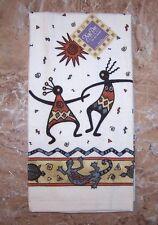 Kokopelli Kitchen Terry Towel Kay Dee Desert Legends Pattern