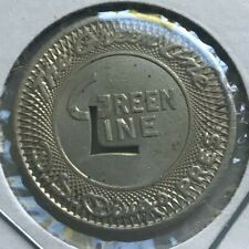 Covington Kentucky KY The Green Line Transportation Token