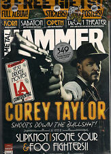 NEW! METAL HAMMER 228 March 2012 COREY TAYLOR SLAYER POSTER/STICKERS + MORTAD CD