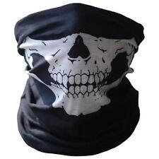 Bicycle Ski Skull Half Face Mask Ghost Scarf Multi Use Neck Warmer COD Free Ship