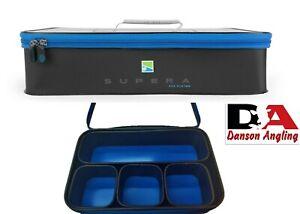 Preston Supera EVA Bait System P0130094 New Model Preston Fishing Luggage