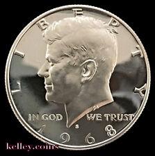 1968-S  GEM PRoof 50C Kennedy 40% Silver Half Dollar