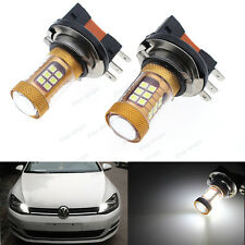 2Pcs White 20W High Power 28smd H15 LED Bulbs For VW Audi BMW Mercedes DRL Lamps