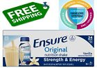 Ensure Original Nutrition Vanilla with 9g of Protein Meal Replacement Shakes