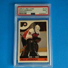 1985-86 O-PEE-CHEE NHL HOCKEY # 110 PELLE LINDBERGH MEMORIAL PSA 9 MINT