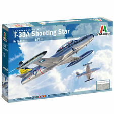 Italeri 1444 T-33A Shooting Star 1:72 Plastic Model Plane Kit