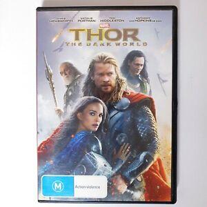 Thor The Dark World Movie DVD Region 4 AUS Free Postage Action Superhero Marvel