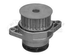 VW POLO 9N 1.4 Water Pump 01 to 08 036121005MX Metal impeller New MEYLE