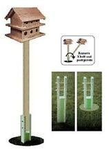 Ark Workshop GROUND SOCKET SWIVEL SYSTEM for Purple Martin & Large Birdhouses