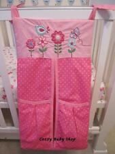 Nappy Stacker Diaper Baby Nursery Room High Quality Storage PINK Flower