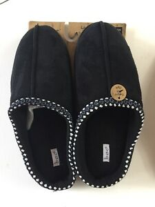 b.o.c Born Concept Ladies Micro Suede Slippers House Shoes Mules Mocs