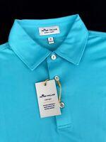 Peter Millar Crown Sport Summer Comfort Polo Shirt Medium $84