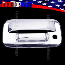 For Ford F150 2004-2010 2011 2012 2013 2014 Chrome Tailgate Cover WITH Keyhole