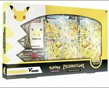 More details for 25th anniversary pokemon tcg celebrations special collection pikachu v-union