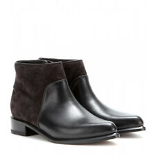 Size 6 / 36 Rag and Bone Aston Black Leather Suede Ankle Boots $595