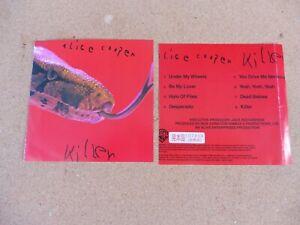 alice cooper - killer - sehr seltene japan promo cd