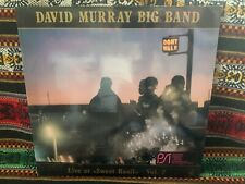 David Murray Big Band Live At Sweet Basil vol 2 Lp free jazz big band 1986