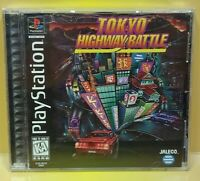 Tokyo Highway Battle ~ Playstation 1 2 PS1 PS2 Game Complete Mint Disc 1 Owner