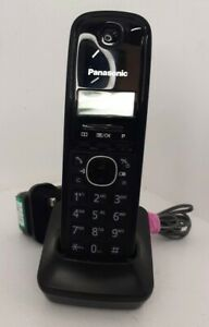Panasonic PNLC 1023 Land Line Phones Home Black Untested Pre-owned