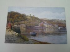 A R QUINTON Postcard 1791 DITTISHAM FERRY ON THE DART  Unposted   §A2884