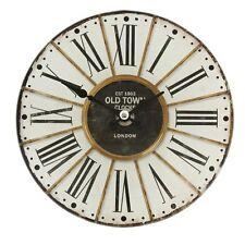 """Clayre Eef kleine Uhr  Nostalgie Shabby """"London Old Town"""" Vintage Antik 17*4 cm"""