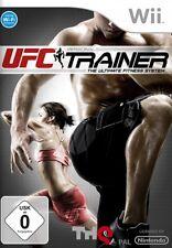 UFC entrenadores personales-Nintendo Wii