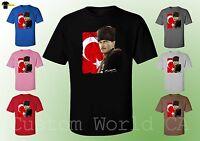 Ataturk T-Shirt  New Mustafa Kemal Ataturk Shirts T-Shirt New Design for Men