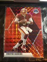 Dwayne Haskins 2020 Panini MOSAIC RED PRIZM WASHINGTON Football Team Redskins