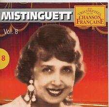 CD CART 25T  MISTINGUETT / MON HOMME / VALENCIA ...   DE 2000  NEUF NON SCELLE