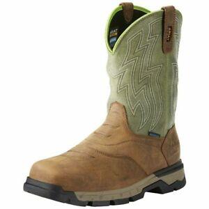 Ariat Mens Rebar Flex Composite Toe Work Safety Western Boot 10021486