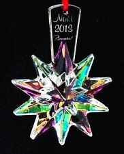 Baccarat Iridescent Crystal 2013 Annual Noel Snowflake Christmas Ornament $140