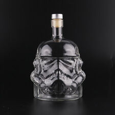 Star Wars Stormtrooper Helmet Glass Wine Bottle Container Kitchen Bar Tools