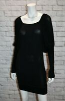 SEDUCE Brand Black Long Sleeve Dress Size 8 BNWT #TU43