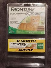 Frontline plus for cats 8 doses