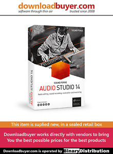 MAGIX Sound Forge Audio Studio 14 - [Boxed]