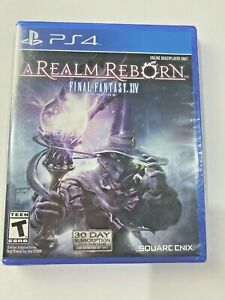Final Fantasy XIV Online: A Realm Reborn (Sony PlayStation 4, 2014) New