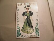 Belle of the West Dressing Doll / Circa 1996 / Free Domestic Shipping