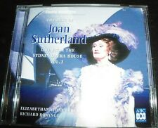 Joan Sutherland Live From The Sydney Opera House Volume 2 (Aust) ABC Classics CD