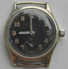 1940s Germany Wehrmacht Heer Officer Wrist Watch SILVANA INCABLOC DH 322200