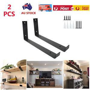 Rustic Shelf Brackets Scaffold Board Bracket Industrial Solid Steel Heavy Duty